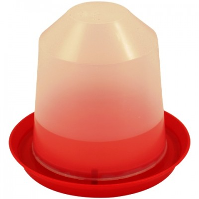 Poultry Style Drinker  - Red