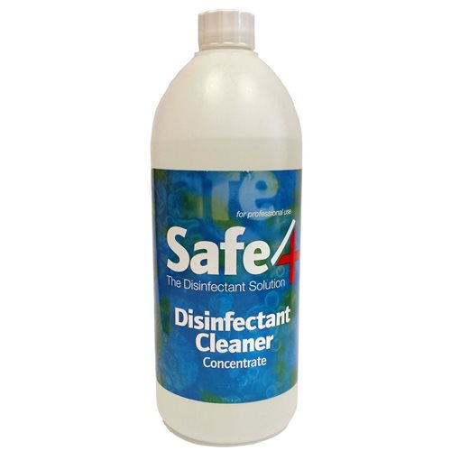 Safe4 Disinfectant Cleaner - Various Concentrates 900ml