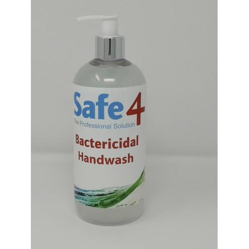Safe4 Bactericidal Handwash