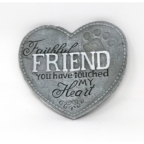 Heart Plaque - Friend