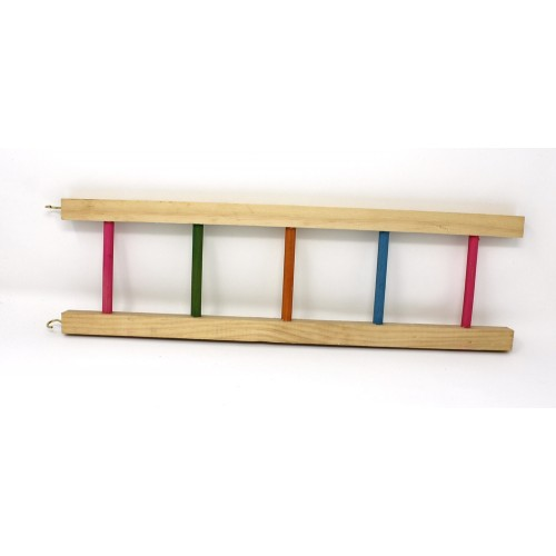 Wooden Ladder - pastel rungs