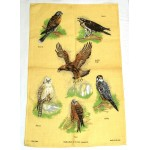 Irish Linen Tea Towel - Noble Birds