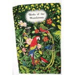 Irish Linen Tea Towel - Rain Forest