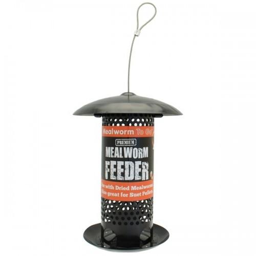 Mealworm Feeder - Black