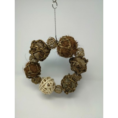 Hanging Ball Wreath