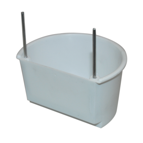 Large D Cup - white or brown - adjustable hooks