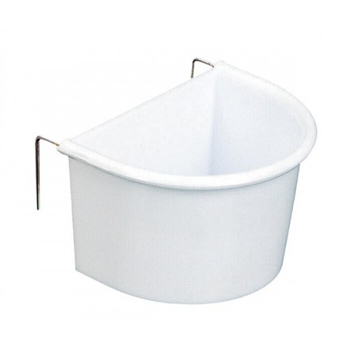 White D Cup - fixed wire hooks