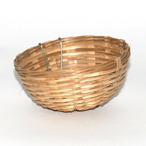 Woven Bamboo Nest Bowl  - Medium
