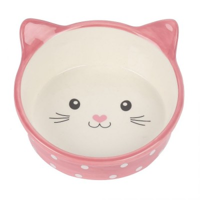 Ceramic Dish - Polka-Dot Kitten