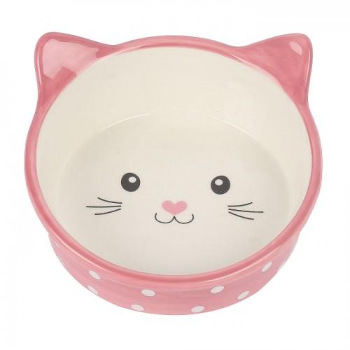 Ceramic Dish - Polka-Dot Kitten
