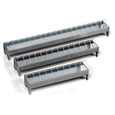 Poultry Trough - Galvanised