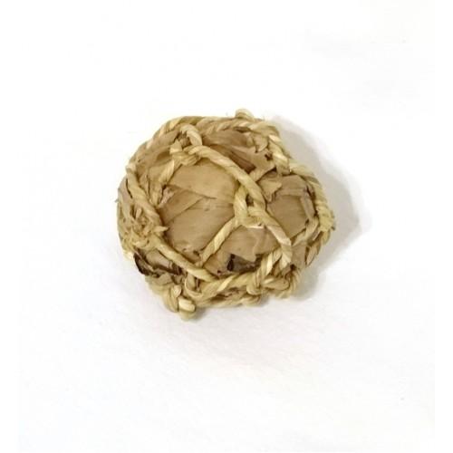 Woven Ball - banana leaf