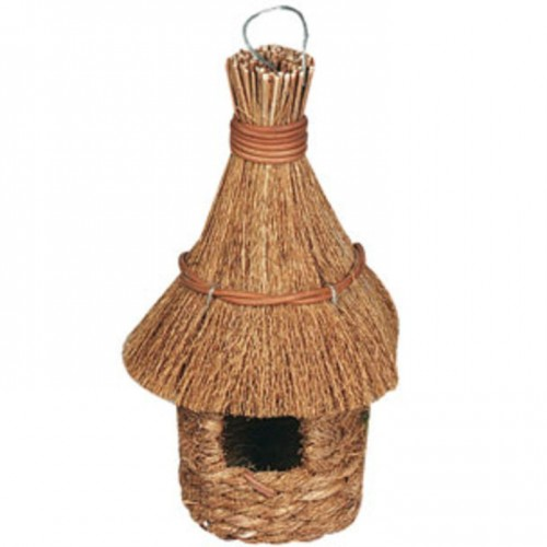 Grass Nest - pointed roof