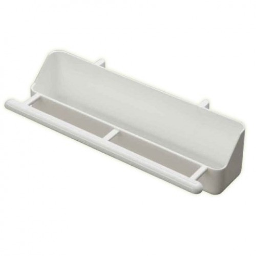 Plastic Trough - with feeding perch
